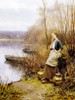 A Lovely Thought by Daniel Ridgway Knight