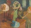 Art Prints of The Millinery Shop by Edgar Degas