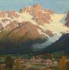 Art Prints of Peaks of Argentiere by Edgar Payne