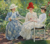 Art Prints of Three Sisters, a Study in June Sunlight by Edmund Charles Tarbell