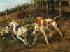 Art Prints of Two Pointers in a Landscape by Edmund Henry Osthaus