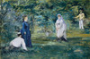 Art Prints of A Game of Croquet by Edouard Manet