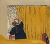 Art Prints of The Yellow Curtain by Edouard Vuillard