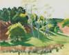 Art Prints of Spindley Locusts by Edward Hopper