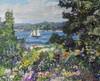 Art Prints of Boothbay Garden by Edward Redfield
