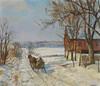 Art Prints of The Red Barn by Edward Redfield