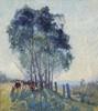 Art Prints of The Wattles by Elioth Gruner