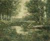 Art Prints of Bathers, Woodland by Ernest Lawson