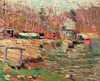 Art Prints of Harlem River Scene by Ernest Lawson