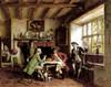 Art Prints of The Angler's Story by Frank Moss Bennett