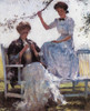 Art Prints of Sunshine and Shadow by Frank Weston Benson