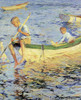 Art Prints of Two Boys in a Boat by Frank Weston Benson