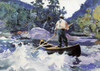 Art Prints of Running the Rapids by Frank Weston Benson