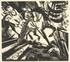 Art Prints of Riding School by Franz Marc