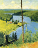 Art Prints of The Moose Country by Frederic Remington