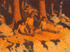 Art Prints of The Story of Where the Sun Goes by Frederic Remington