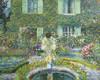 Art Prints of The Garden Pool by Frederick Carl Frieseke