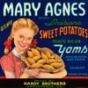 Art Prints of 016 Mary Agnes Sweet Potato Yams, Fruit Crate Labels