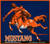 Art Prints of 051 Mustang Produce, Fruit Crate Labels