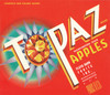061 Topaz Apples, Fruit Crate Labels | Fine Art Print