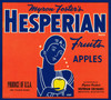 064 Hesperian Fruits, Apples, Fruit Crate Labels | Fine Art Print