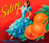 065 Salero Citrus, Fruit Crate Labels | Fine Art Print