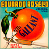 059 Eduardo Rosello Gallant, Fruit Crate Labels | Fine Art Print