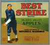 Art Prints of  Art Prints of 065 Best Strike Pajaro Valley Apples, Fruit Crate Labels
