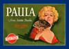 Art Prints of |Art Prints of 081 Paula Brand from Santa Paula, Fruit Crate Labels