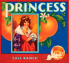 079 Princess, Fruit Crate Labels | Fine Art Print