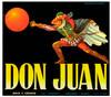 Art Prints of |Art Prints of 099 Don Juan, Fruit Crate Labels