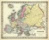 Europe, 1856 (0149069) by G.W. Colton | Fine Art Print