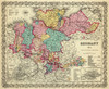 Germany, No. 1, 1856 (0149079) by G.W. Colton   Fine Art Print