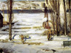 Art Prints of  Art Prints of A Morning Snow, Hudson River, 1910 by George Bellows