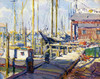 Art Prints of Sunny Day in the Harbor by George Sotter