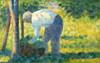 Art Prints of The Gardener by Georges Seurat