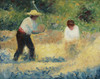 Art Prints of The Pile of Stones by Georges Seurat