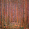 Art Prints of Forest of Firs by Gustav Klimt