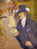Art Prints of An Englishman at the Moulin Rouge by Henri de Toulouse-Lautrec