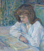 Art Prints of La Liseuse by Henri de Toulouse-Lautrec
