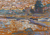 Art Prints of Boats, Lavandou by Henri-Edmond Cross