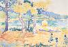 Art Prints of Pines on the Coastline by Henri-Edmond Cross