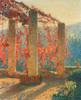 Art Prints of The Pergola by Henri-Jean Guillaume Martin