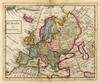 Art Prints of Europe, 1736 (5580003) by Herman Moll