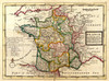 Art Prints of France, 1736 (5580022) by Herman Moll