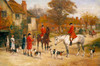 Art Prints of A Meet in the Village by Heywood Hardy