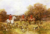 Art Prints of The Fox Hunt by Heywood Hardy