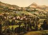 Art Prints of Le Cantal St. Jacques, Auvergne Mountains, France (386985)