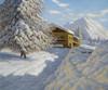 Art Prints of Winter Landscape III by Ivan Fedorovich Choultse