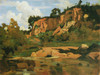 Art Prints of Civita Castellana by Camille Corot